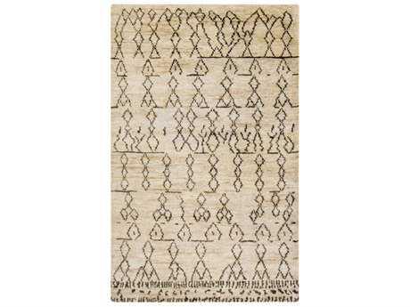 Surya Casablanca Rectangular Camel & Moss Area Rug