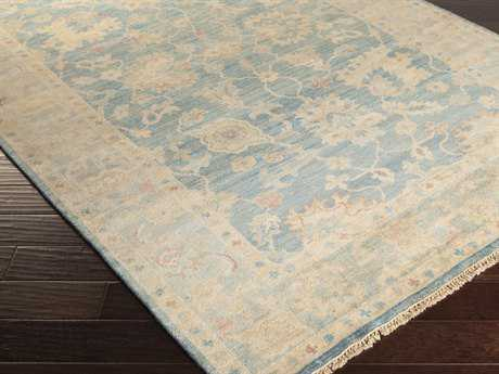 Surya Cheshire Rectangular Teal Area Rug