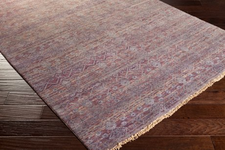 Surya Cheshire Rectangular Mauve Area Rug