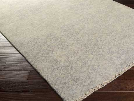 Surya Cheshire Rectangular Mauve & Light Gray Area Rug
