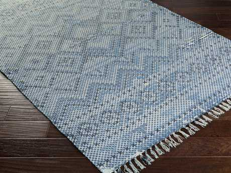 Surya Chaska Rectangular Sky Blue Area Rug