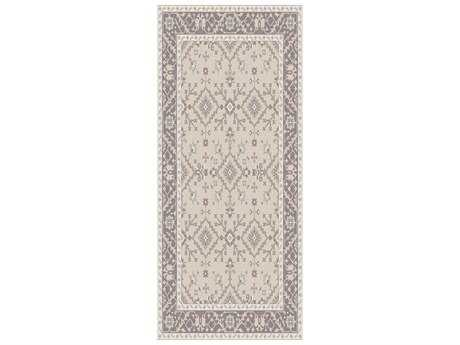 Surya Castille 2'6'' x 8' Rectangular Light Gray Runner Rug