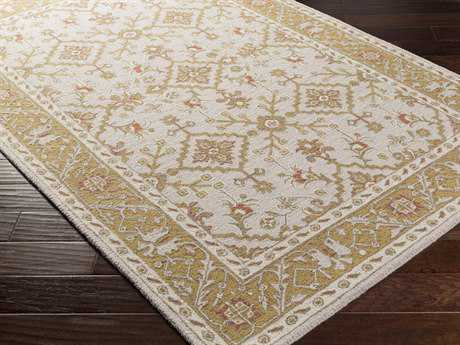 Surya Castille Rectangular Gold Area Rug