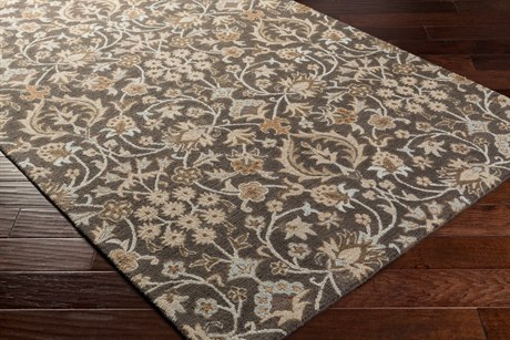 Surya Castille Rectangular Chocolate Area Rug