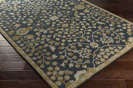 Surya Castille Rectangular Beige, Tan & Light Gray Area Rug
