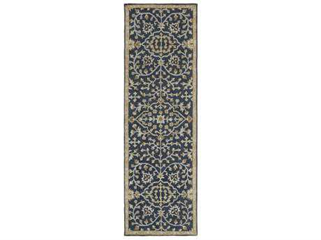 Surya Castille 2'6'' x 8' Rectangular Beige, Tan & Light Gray Runner Rug