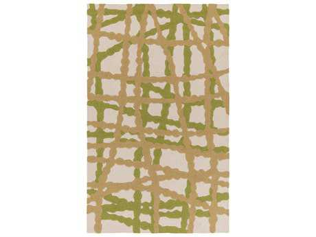 Surya Courtyard Rectangular Lime Area Rug