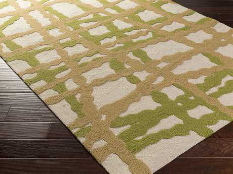Surya Courtyard Rectangular Lime Area Rug