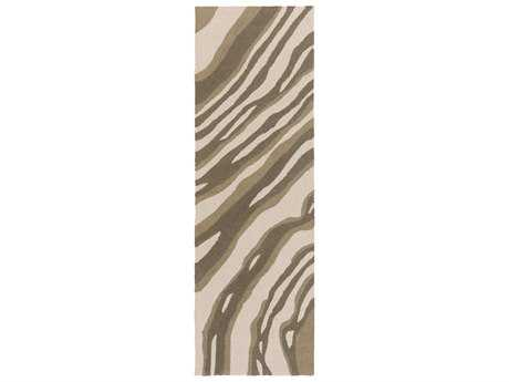 Surya Courtyard 2'6'' x 8' Rectangular Beige Runner Rug