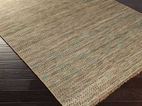 Surya Cove Rectangular Beige & Forest Area Rug