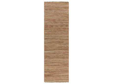 Surya Cove 2'6'' x 8' Rectangular Beige & Cherry Runner Rug