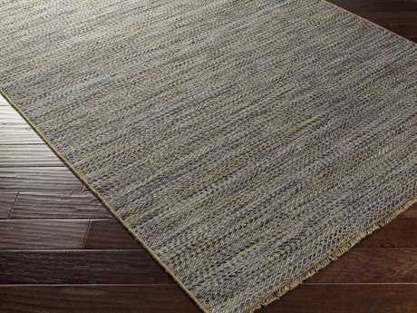 Surya Cove Rectangular Beige & Navy Area Rug