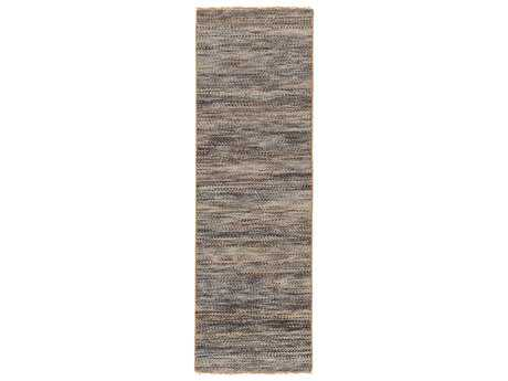 Surya Cove 2'6'' x 8' Rectangular Beige & Navy Runner Rug