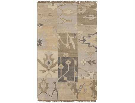 Surya Cypress Rectangular Beige Area Rug