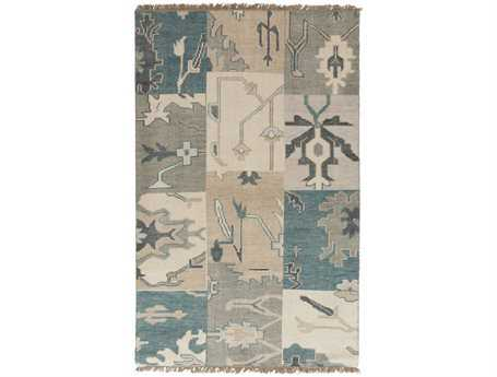 Surya Cypress Rectangular Blue Area Rug