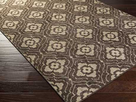 Surya Cypress Rectangular Chocolate Area Rug
