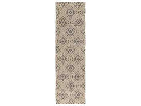Surya Cypress 2'6'' x 8' Rectangular Beige Runner Rug
