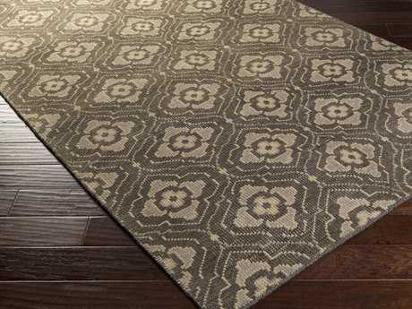 Surya Cypress Rectangular Charcoal Area Rug