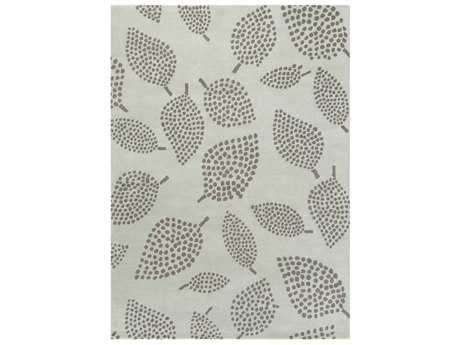 Surya Decorativa Rectangular Silver Gray & Charcoal Area Rug