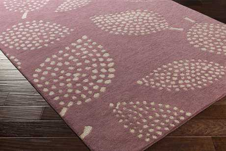 Surya Decorativa Rectangular Dark Purple & Beige Area Rug
