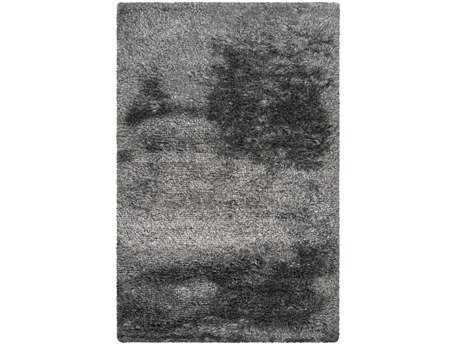 Surya Dunes Rectangular Gray Area Rug