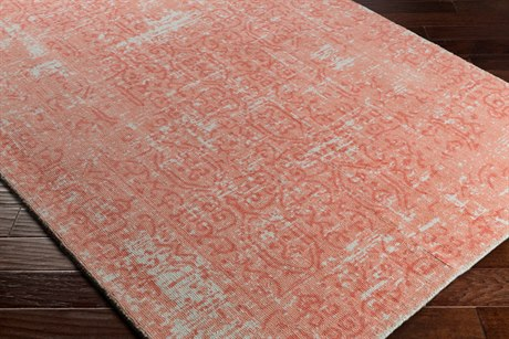 Surya D Orsay Rectangular Peach, Rose & Pale Blue Area Rug
