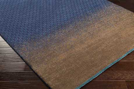Surya DipGeo Rectangular Tan, Navy & Teal Area Rug