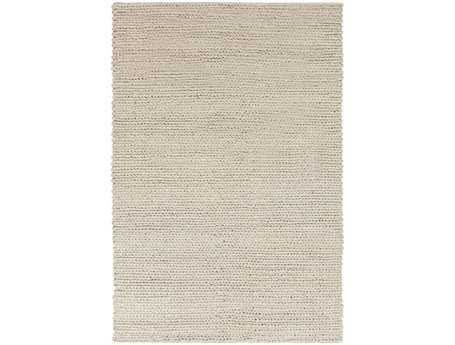 Surya Desoto Rectangular White Area Rug