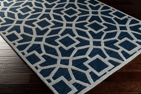 Surya Dream Rectangular Blue Area Rug