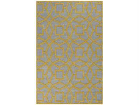 Surya Dream Rectangular Yellow Area Rug