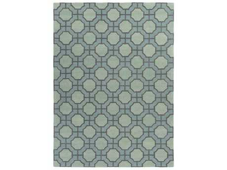 Surya Dream Rectangular Sage & Dark Brown Area Rug