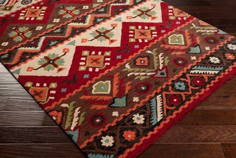 Surya Dream Rectangular Brown Area Rug