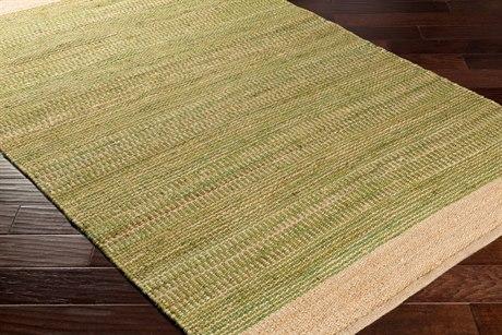 Surya Davidson Rectangular Grass Green & Khaki Area Rug