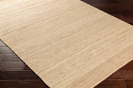 Surya Davidson Rectangular Cream & Khaki Area Rug