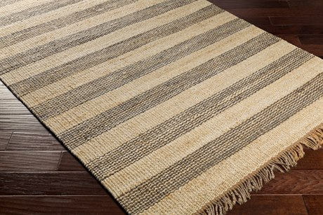 Surya Davidson Rectangular Medium Gray, Cream & Khaki Area Rug
