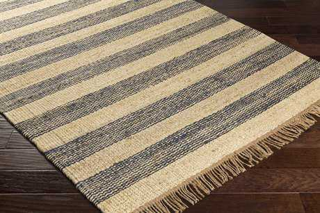 Surya Davidson Rectangular Navy, Cream & Khaki Area Rug