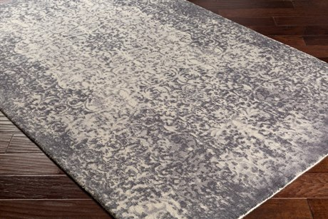 Surya Edith Rectangular Cream, Taupe & Medium Gray Area Rug