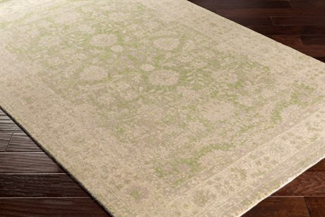 Surya Edith Rectangular Cream, Lime & Taupe Area Rug