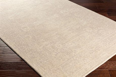 Surya Edith Rectangular Cream & Taupe Area Rug