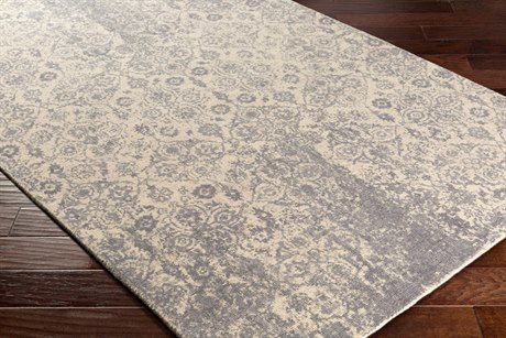 Surya Edith Rectangular Cream, Medium Gray & Taupe Area Rug
