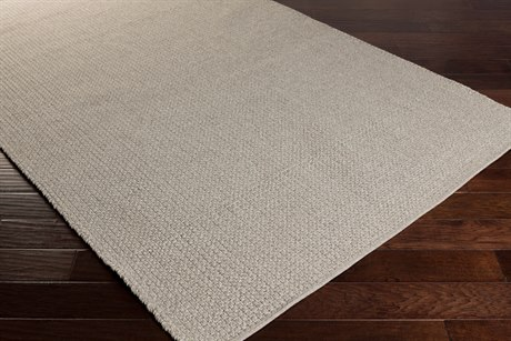 Surya Ember Rectangular Light Gray Area Rug