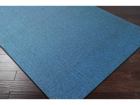 Surya Ember Rectangular Bright Blue Area Rug