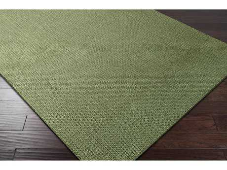 Surya Ember Rectangular Grass Green Area Rug