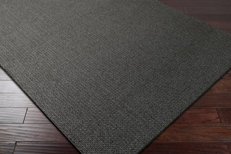 Surya Ember Rectangular Charcoal Area Rug