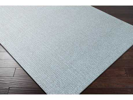 Surya Ember Rectangular Pale Blue Area Rug