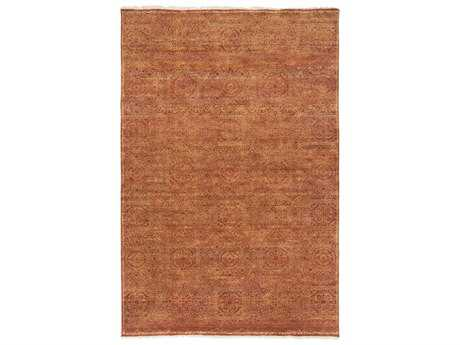 Surya Empress Rectangular Rust Area Rug