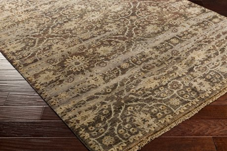 Surya Empress Rectangular Olive Area Rug