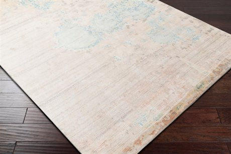 Surya Ephemeral Rectangular Butter, Beige & Sea Foam Area Rug