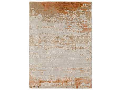 Surya Ephemeral Rectangular Wheat, Light Gray & Peach Area Rug