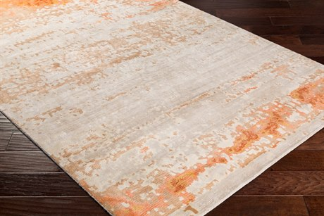 Surya Ephemeral Rectangular Wheat, Light Gray & Peach Area Rug